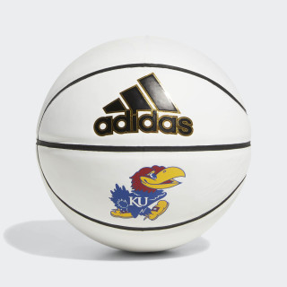 Jayhawks Mini Autograph Basketball Natural / White / Collegiate Royal / Bright Gold CW8955