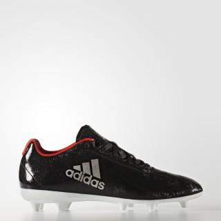 Calzado de Fútbol X 17.4 Terreno Firme CORE BLACK/PLATIN MET./CORE RED BA8564