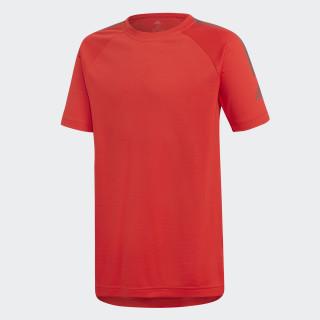 Camiseta Training Cool Vivid Red / Black DJ1168