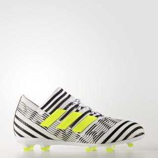 Nemeziz 17.1 Firm Ground Boots Footwear White/Solar Yellow/Core Black S82417