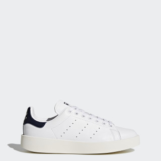 Chaussure Stan Smith Bold White/Core Black/Collegiate Navy BA7770