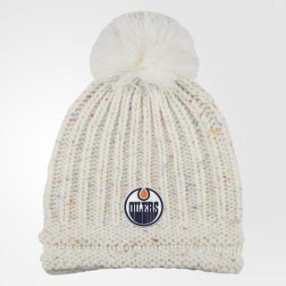 Oilers Pom Beanie Multi CP3436
