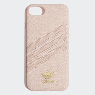 Snake Molded Case iPhone 8 Clear Pink / Gold Metallic CK6213