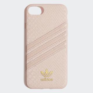 Snake Molded iPhone 8 Schutzhülle Clear Pink / Gold Met. CK6213