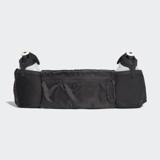 Cinturón Portabotella Run 2 BLACK/BLACK/REFLECTIVE CF5212