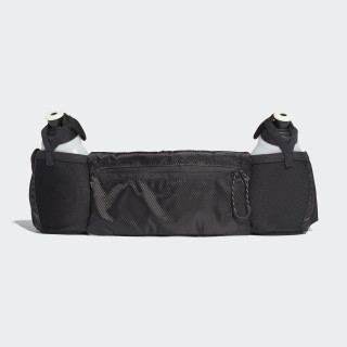 Run 2 Bottle Belt Black/Black/Reflective CF5212