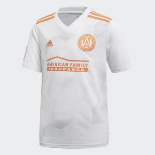 Atlanta United FC Away Jersey White / Light Solid Grey / Trace Orange CD3629