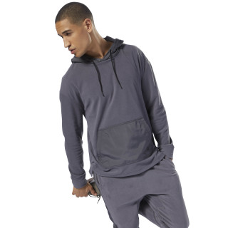 Training Essentials Microfleece Hoodie Ash Grey D94158