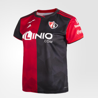Jersey de Local Atlas Fútbol Club Mujer SCARLET/POWER RED/BLACK/NIGHT GREY CY4575