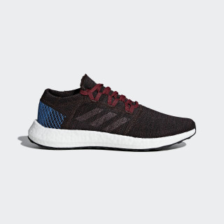 PureBOOST Go Schuh Night Red / Noble Maroon / Bright Blue AH2326