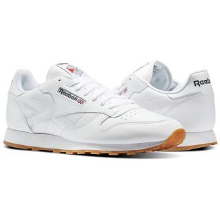 Classic Leather White / Gum 49797
