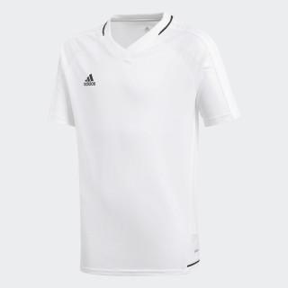 Tiro17 Training Voetbalshirt White/Black BP8565