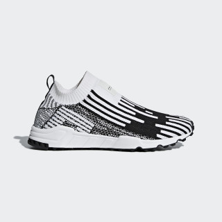 EQT Support Sock Primeknit sko Core Black / Ftwr White / Sub Green B37524