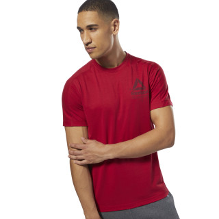 Speedwick Graphic MOVE Tee Cranberry Red D93762