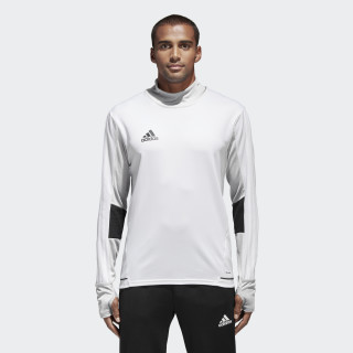 Tiro 17 Trainingsshirt White/Black BQ2737