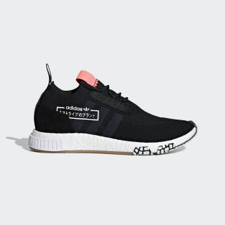Sapatos NMD_Racer Primeknit Core Black / Core Black / Bluebird BB7041