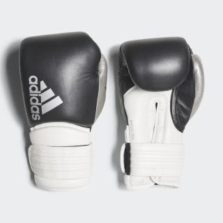 Hybrid 300 Boxing Gloves Black/White/Shiny Silver CI9186
