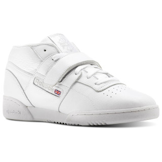 Workout Clean Mid Strap Clean-White / Steel CN3915