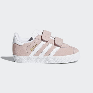 Gazelle sko Icey Pink/Ftwr White/Ftwr White AH2229