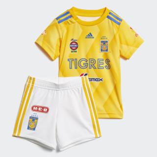 Mini Uniforme de Local Tigres UANL COLLEGIATE GOLD/BOLD GOLD/BLUE/WHITE CD6009