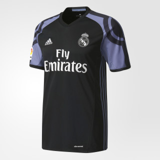 Real Madrid Third Jersey Black / Super Purple AI5139