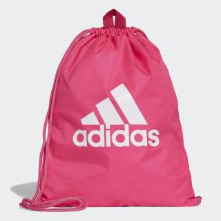 Performance Logo Gym Bag Shock Pink / Shock Pink / White DM7665