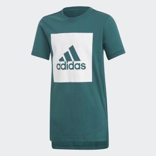 Essentials Logo T-Shirt Noble Green / White DJ1748