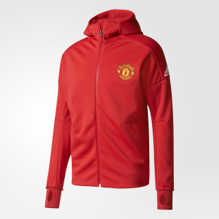 Manchester United Sudadera con Gorro Anthem Z.N.E. Sudadera con Gorro REAL RED/POWER RED BQ8743