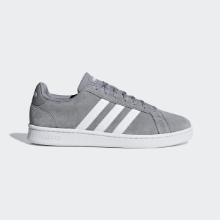 Grand Court Shoes Grey Three / Ftwr White / Grey Four F36412