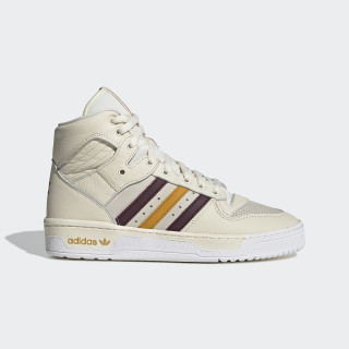Eric Emanuel Rivalry Hi Shoes Cream White / Maroon / Customized G25836