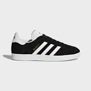 Chaussure Gazelle Core Black / Cloud White / Gold Metallic BA9595