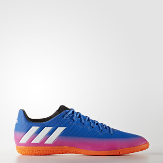 Calzado de Fútbol Messi 16.3 Indoor BLUE/FTWR WHITE/SOLAR ORANGE BA9018