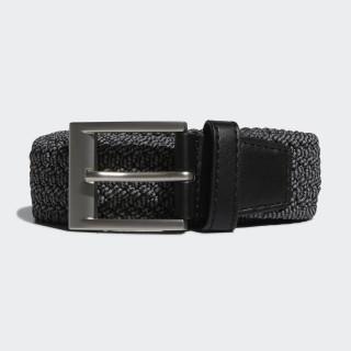 Braided Stretch Belt Black DP7426