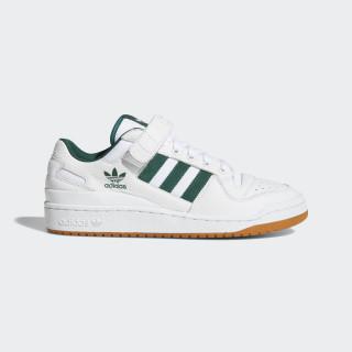 Zapatilla Forum Low Top Ftwr White / Collegiate Green / Gum 2 AQ1261