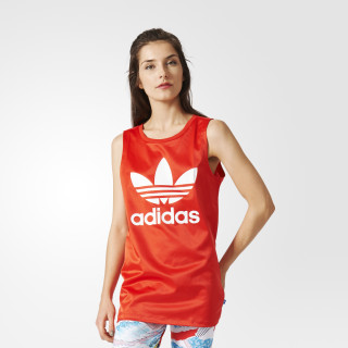 Playera Trefoil Tank CORE RED BK2090