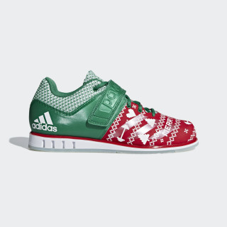 Powerlift.3.1 Shoes Scarlet / Cloud White / Bold Green CG6455