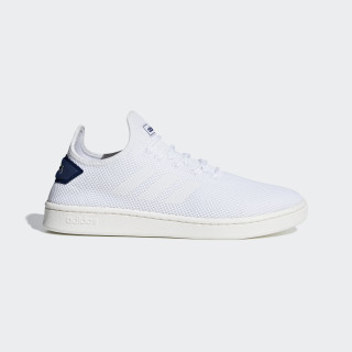Zapatilla Court Adapt Ftwr White / Ftwr White / Dark Blue F36416