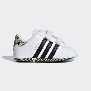 Superstar Crib Shoes Ftwr White / Core Black / Core Black AQ1719