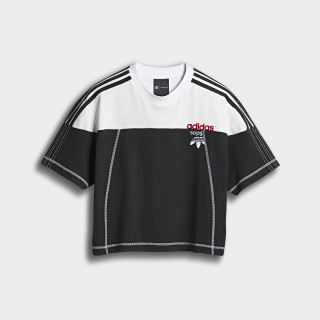 Top adidas Originals by AW Disjoin Crop Black / Core White DW8700