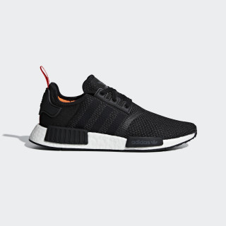 Obuv NMD_R1 Core Black / Core Black / Solar Orange B37621