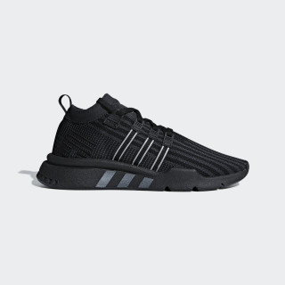 EQT Support Mid ADV Primeknit Schoenen Core Black / Carbon / Solar Yellow B37456