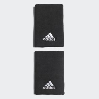 Tennis Wristband Large Black/White CF6278