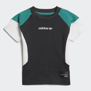 EQT Tee Black / White / Sub Green D98782