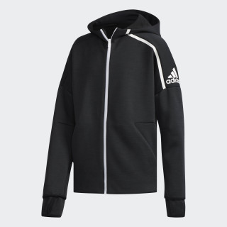adidas Z.N.E. Fast Release hoodie Zne Htr/Black / White DJ1835