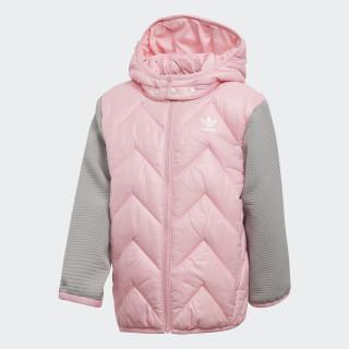 Trefoil Midseason jakke Light Pink / Mgh Solid Grey DH2469