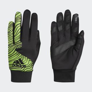 Mid Five Gloves Black Green Met. CK4824