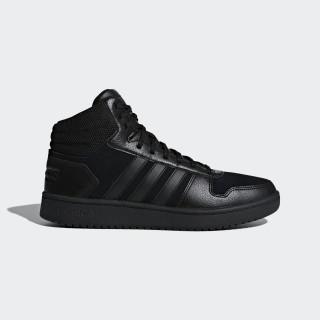 Sapatos Hoops 2.0 Mid Core Black / Core Black / Core Black B44649