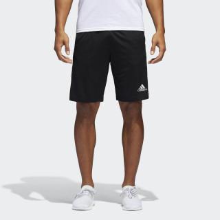 D2M 3-Stripes Shorts Black / White BP9111