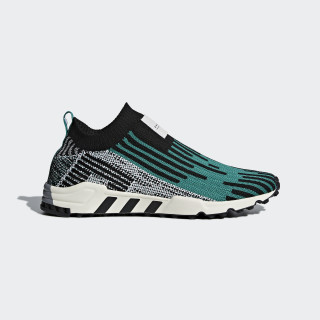 EQT Support SK Primeknit Shoes Core Black / Sub Green / Cloud White B37523