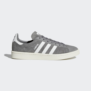 Scarpe Campus Grey Three/Footwear White/Chalk White BZ0085